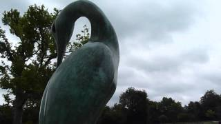 SIMON GUDGEON ISIS SCULPTURE-ROYAL PARKS FOUNDATION-HYDE PARK-LONDON
