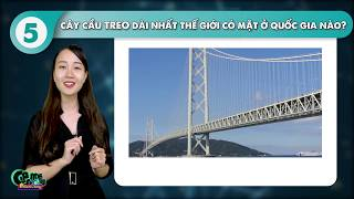 Game Đố Vui | Cây cầu xoay duy nhất ở Việt Nam tên gì | Top 5 cây cầu đặc biệt
