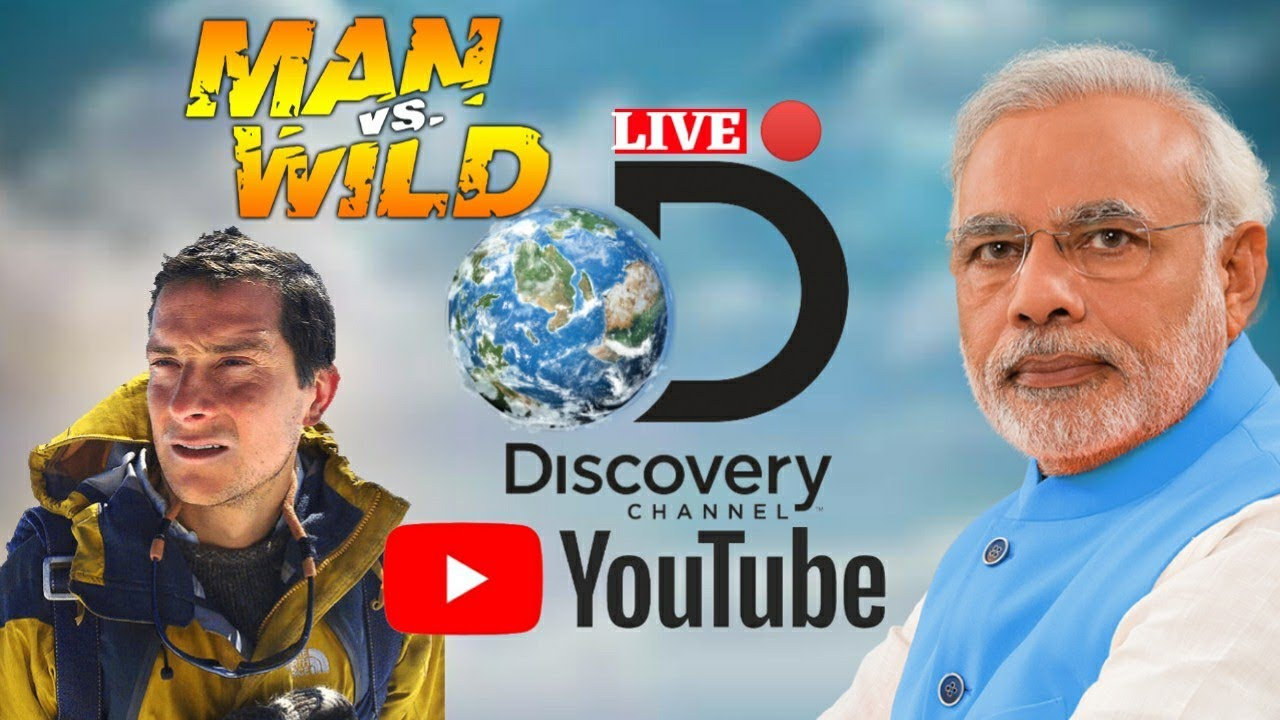 discovery, channel, India, PM Modi, Narendra Modi, Prime minister Modi,  Bear Grylls Behind the scene