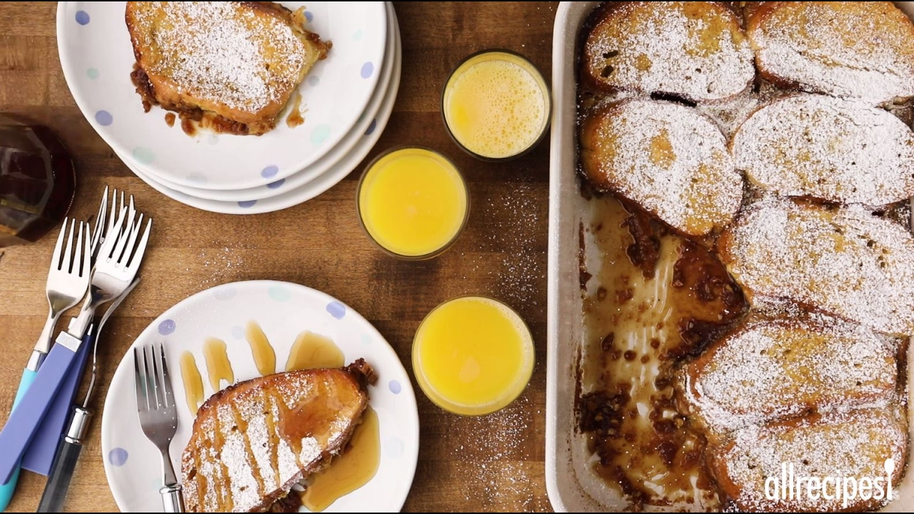 Brunch Recipes - How to Make Orange Pecan French Toast ...