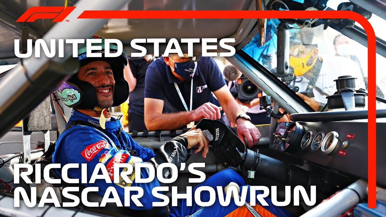 Daniel Ricciardos NASCAR Dream Comes True  2021 United States Grand Prix