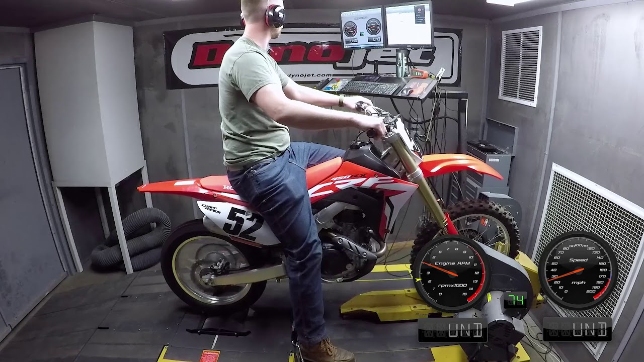 How Much Power Does The 2018 Honda CRF450RX Make