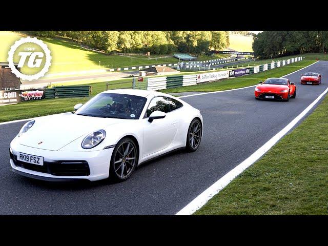 Damon Hill vs The Stig vs Chris Harris | Top Gear: Series 28