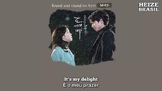 Gambar cover 헤이즈 (Heize) - Round and Round (ft. Han Sooji) [Legendado ENG/PT-BR]