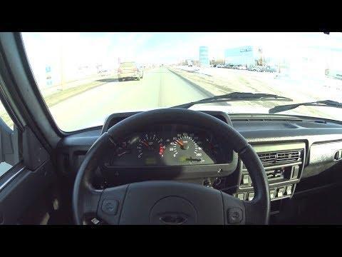 2018 LADA 4X4 URBAN POV TEST DRIVE