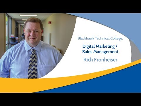 Digital Marketing and Sales Management programs at Blackhawk Technical College