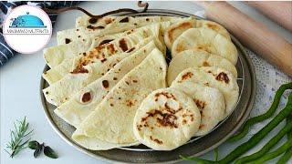 Hindistan Mutfağından Baharatlı NAAN Ekmeği ✔Çok Lezzetli bir Ekmek Tarifi➡Masmavi3Mutfakta