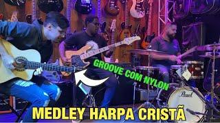 Veja essa junção de GROOVE + FINGERSTYLE no violão de NYLON!!!