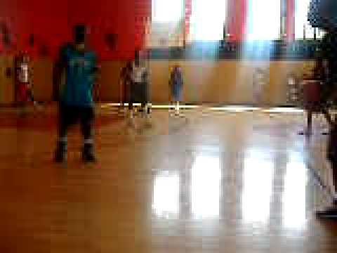 Al Raby boys playin basketball