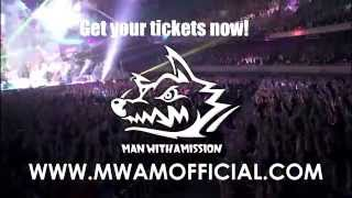Man With A Mission Official U.S. Summer Tour Promo