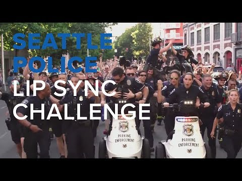 Seattle Police Department's lip sync challenge video