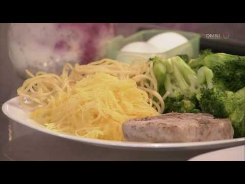 Calorie intakes on Chinese vs healthy food (in Cantonese)
