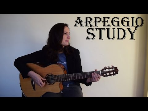 Flamenco Arpeggio Study (Guitar Lesson) with FREE TABs! - The metronome sessions
