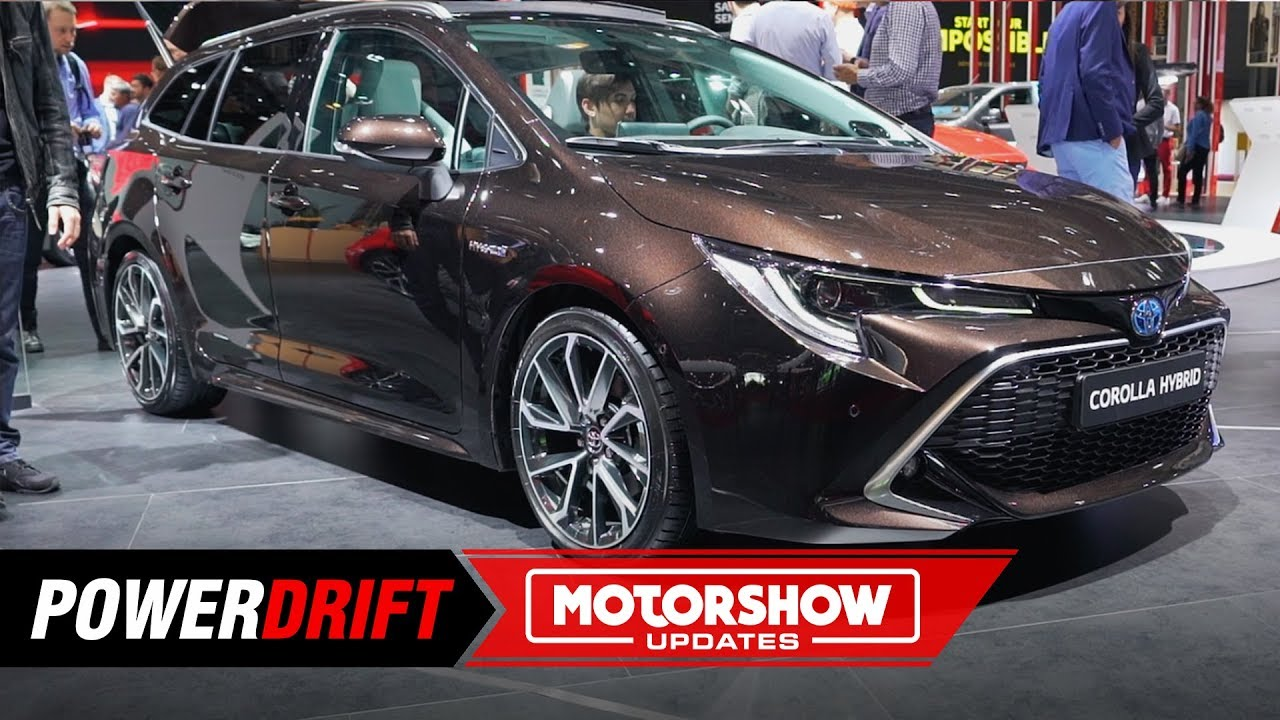 2019 Toyota Corolla Touring Sports Sporty Car With A Lot Of Space