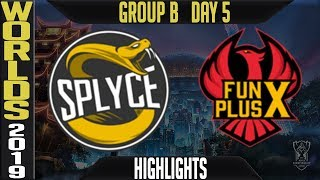 SPY vs FPX Highlights Game 2 | S9 Worlds 2019 Group B Day 5 | Splyce vs FunPlus Phoenix