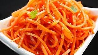 Здоровый  и полезный   салат   из моркови.