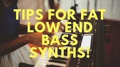 How to get tight Low End Bass Synths