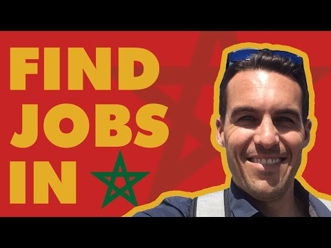 FIND JOBS in MOROCCO - the Mindset you NEED