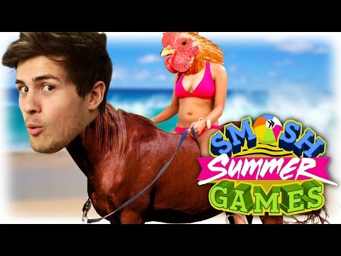 THE SUMMER GAMES ARE HERE! (Smosh Summer Games)