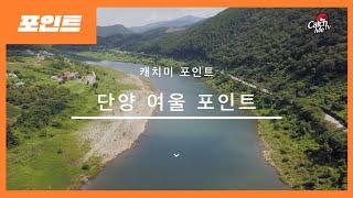 단양 여울 낚시포인트 - 민물 낚시 포인트 소개