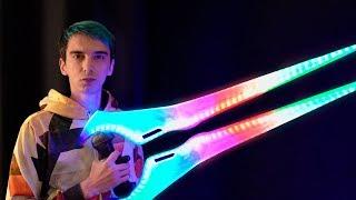 3D Yazıcı ile ENERJİ KILICI Basmak! (RGB Işıklı)