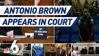 Former NFL Star Antonio Brown's Bond Set After Court Appearance | NBC 6