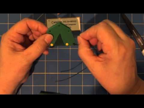 Camping It S In Tents Girl Scout Swap Kit Video Tutorial Youtube