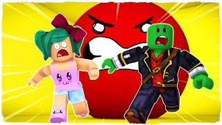 👉 ESCAPE FROM THE ASESINA BOLA IN ROBLOX!