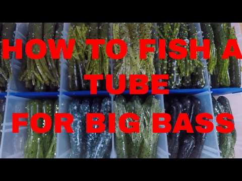 How To Fish A Plastic Tube Bait For Huge Smallmouth Bass
