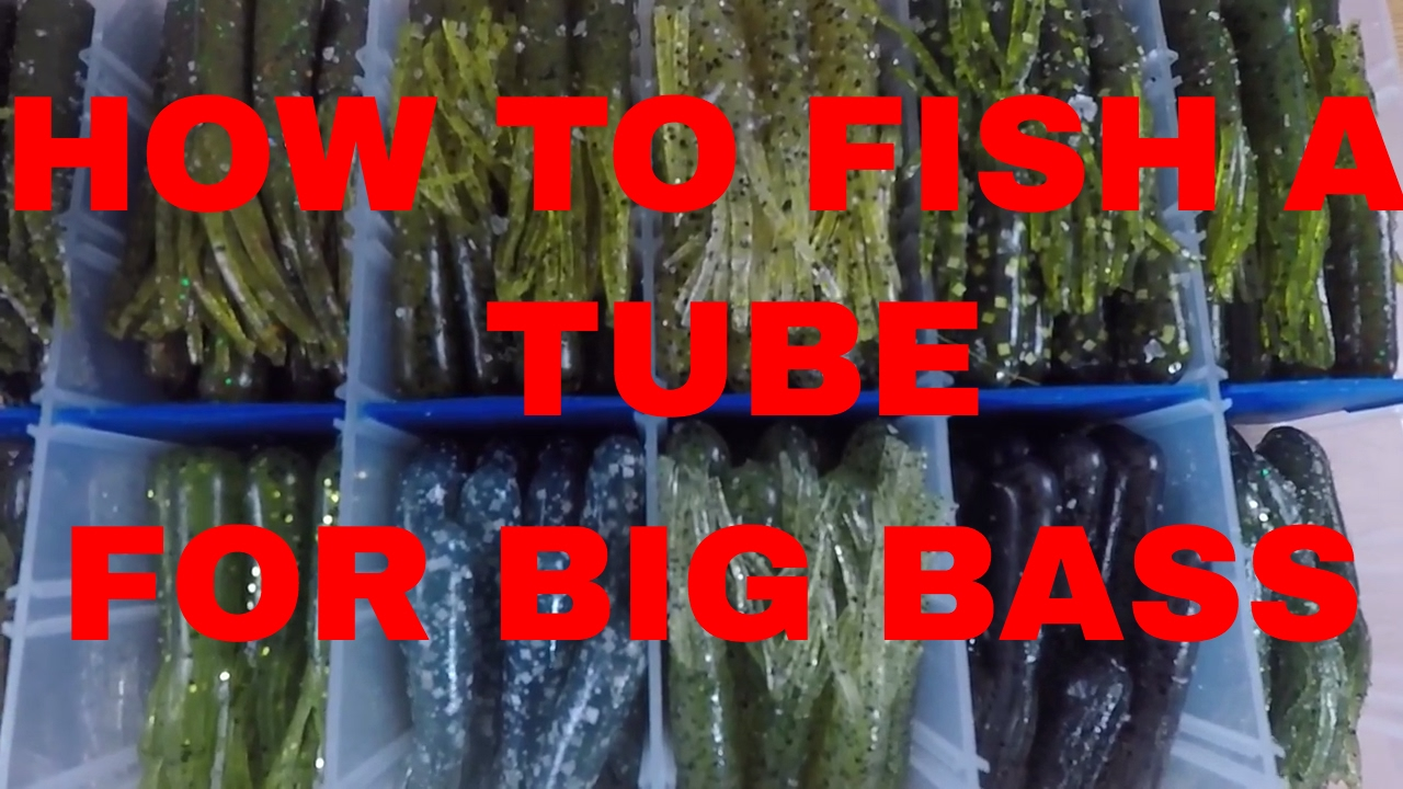 How to fish a plastic tube bait for huge Smallmouth Bass - YouTube