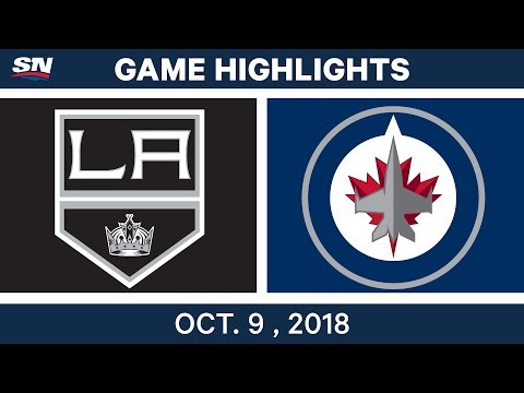 NHL Highlights | Kings vs. Jets - Oct. 09, 2018