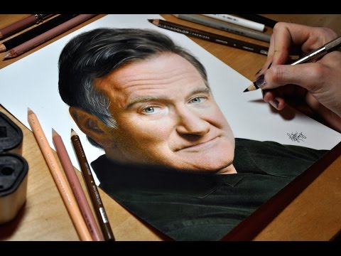 Drawing Robin Williams
