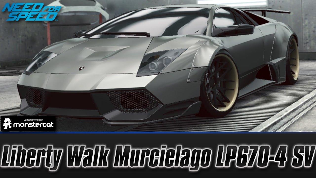Need For Speed No Limits Lamborghini Murcielago Lp670 4 Sv