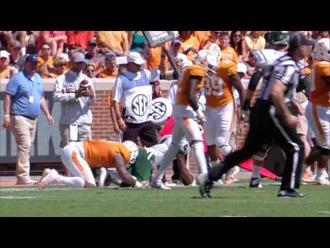 Highlights: #15 Tennessee 28, Ohio 19 (Sept. 17, 2016)