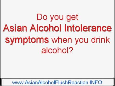 Asian alcohol intolerance