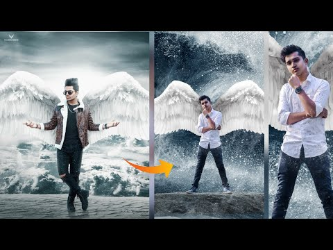 Instagram Viral Wings Photo Editing Tutorial| Picsart Photo Editing Tutorial|