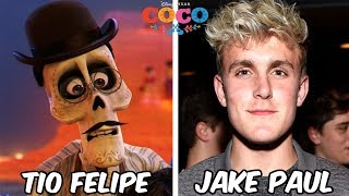 Behind the voices of COCO 2017 | Disney Pixar Animated Movie