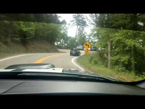 Nikki Driving the Tail of the Dragon Oak Ridge, TN