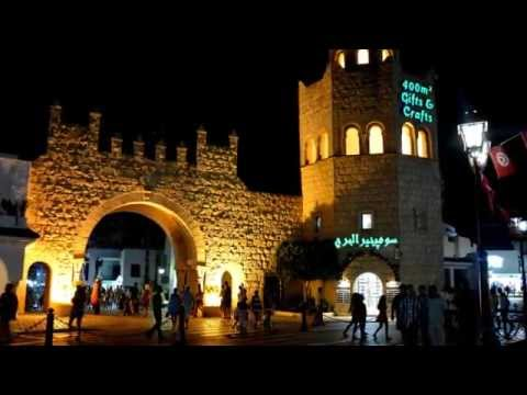 A night in Port El Kantaoui - Walk in the marina 2014