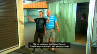 Titan Garages Sheds And Carports, Flight Experience Promo