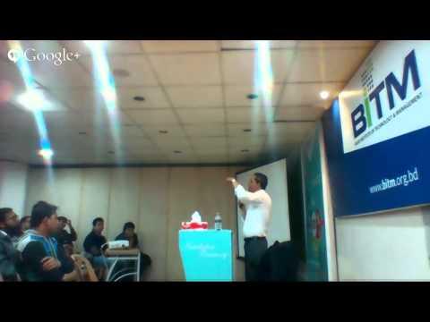 Tech Adda session with Shishir Khan Google Inc.