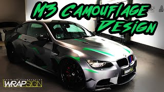 BMW M3 Camouflage Design - Wrapsign - Auto folieren NRW