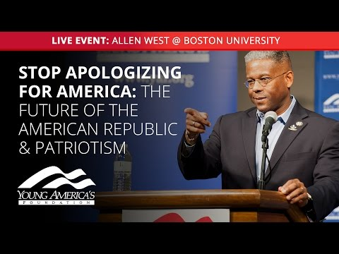 Fred Allen Lecture Series Presents: Allen West LIVE at Boston University