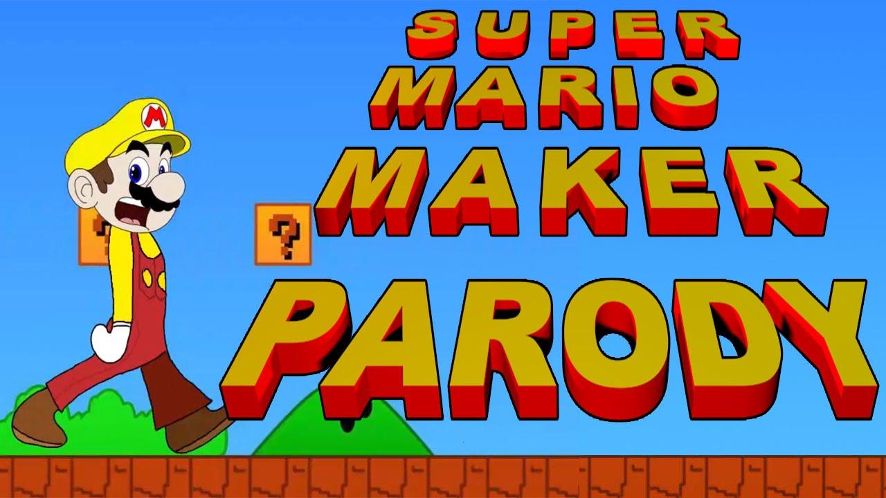 super mario fucer super mario maker parody  youtube
