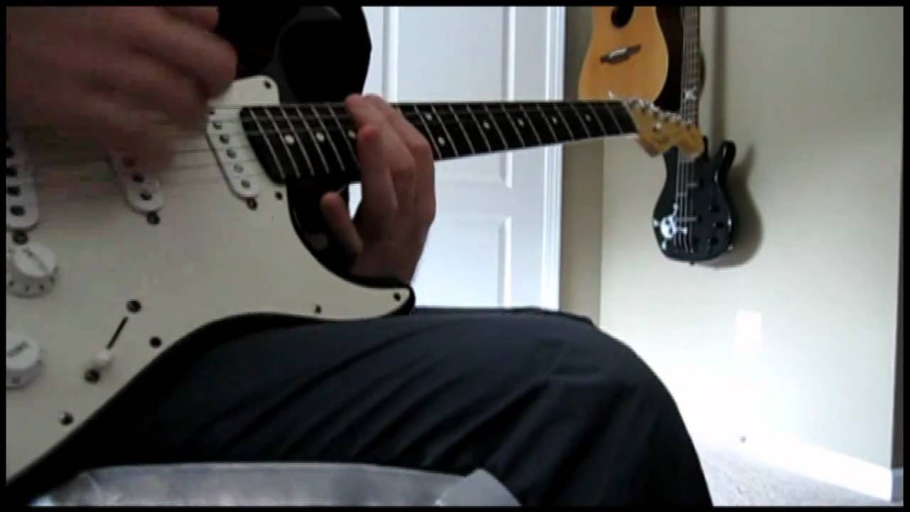Seether - I'm The One guitar cover WITH TABS (Hi-Def)