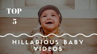 Top 5 hilarious baby videos 2018 maroon5 girlslikeyou AdamLevine
