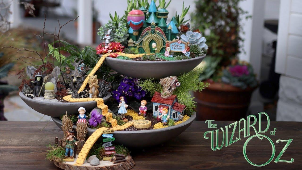 Alice In Wonderland Fairy Garden Garden Design Ideas