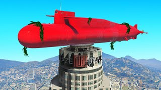 How NOT To Use The NEW SUBMARINE! (GTA 5 Funny Moments)