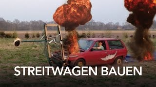 Streitwagen bauen - how to - Heimwerkerking Fynn Kliemann