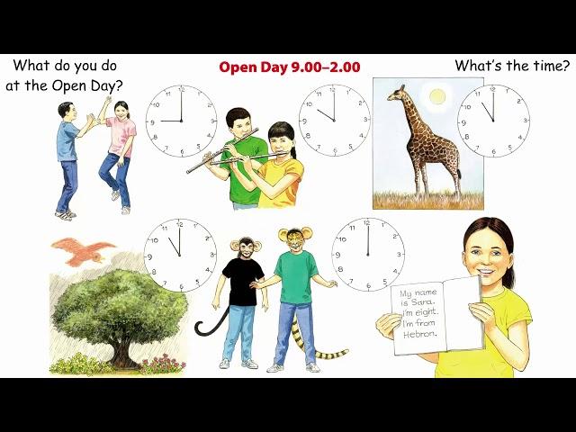 الصف الثالث إنجليزي الفصل الثاني الصفحة 20 و21